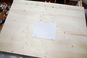tv mount board